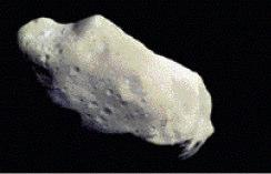 A relatively small and rocky object that orbits