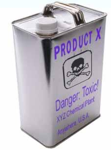 4002 Container Labels: Manufacturer Responsibilities OSHA standards require chemical manufacturers and importers to label all containers of hazardous materials. Labels must be written in English.