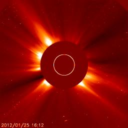 Near the Sun, comet ices evaporated into gases Important solar system fact: hotter when closer to Sun!