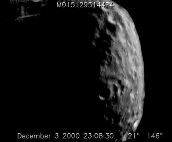 Asteroids Eros from NEAR: