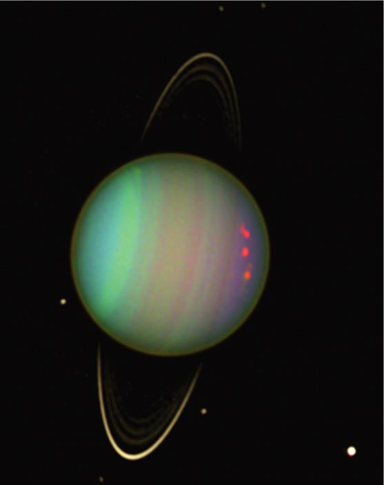 1690, but it was thought to Uranus was discovered using be another star.