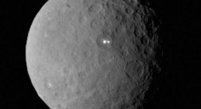 Asteroids The large asteroid Ceres (or minor planet) orbits between Mars and Jupiter.