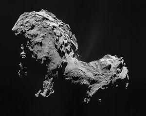 Comets The ESA Rosetta mission visited the comet 67P/C G in 2014.