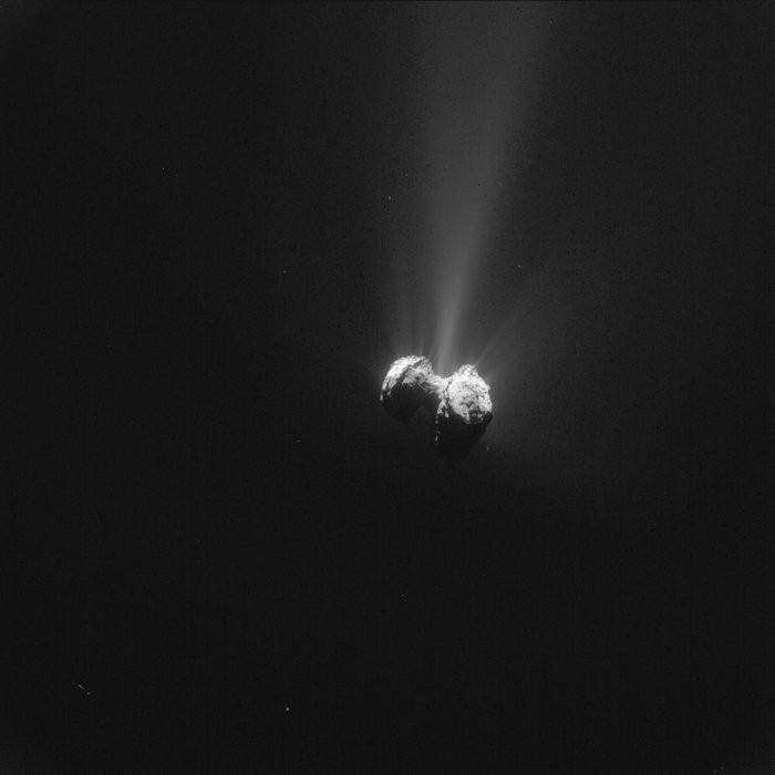 Recent information suggest the comet is actually two comets that