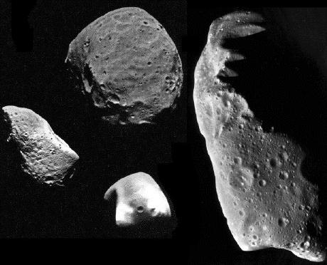 Minor bodies of the solar system include: asteroids comets (have high eccentricity