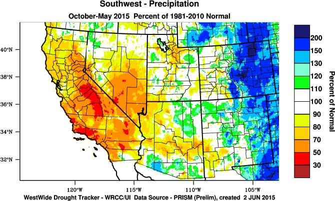 Water Year Precip.