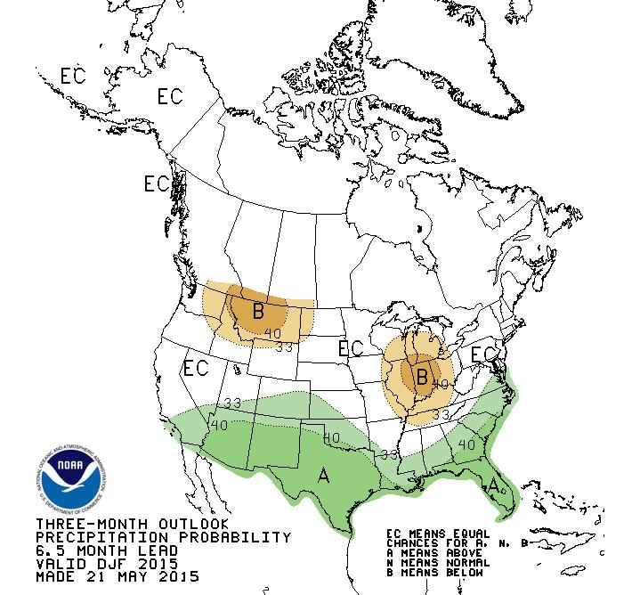 Dec.-Feb. Precipitation Outlook What will next winter look like?