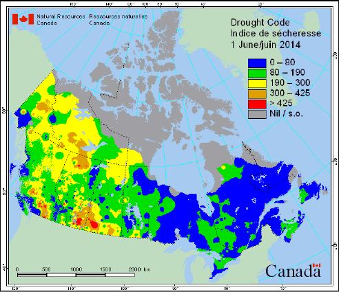 conditions across Canada. http://cwfis.cfs.nrcan.