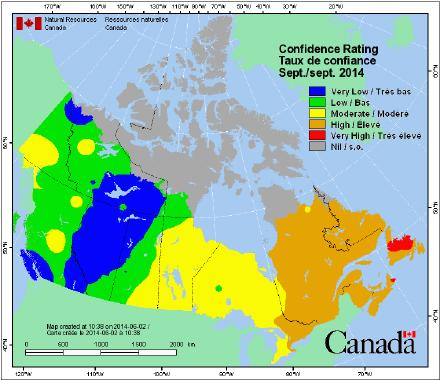 average weather) As fall takes hold, above-average severity expands