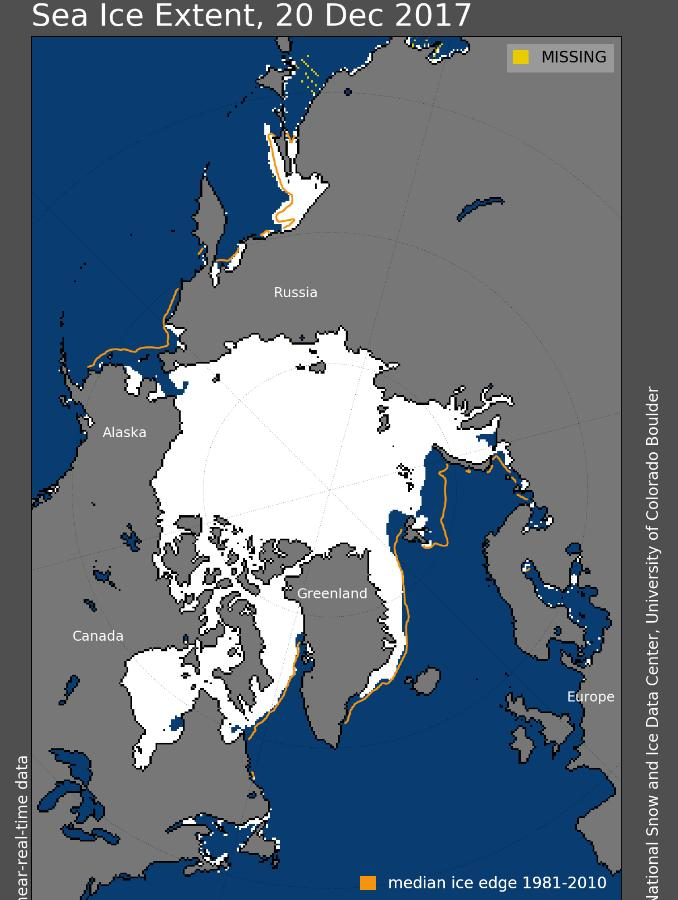 Arctic Wide Sea Ice
