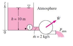 Therefore, the mechanical energy of a flowing fluid can be expressed on a unit-mass basis as In the absence of any changes in flow