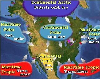 Air Masses and Weather