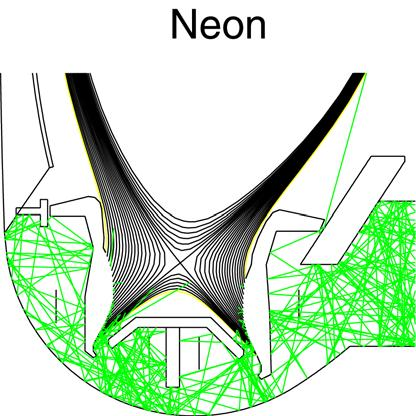 Enrichment in Pumping Plenum dominated by Geometry and