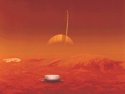 -atmosphere with a few % CH 4 The chemistry in the atmosphere of Titan may resemble that