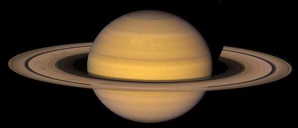 13 Atmospheric Features of Saturn Zones and Belts are less vivid Cooler temperatures produce