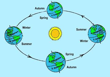 Look at the pictures and observe the differences between Northern and Southern hemisphere. Picture 1 Picture 2 Answer the questions.
