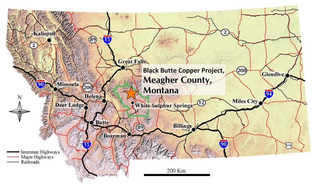6 Figure 1 Black Butte Copper