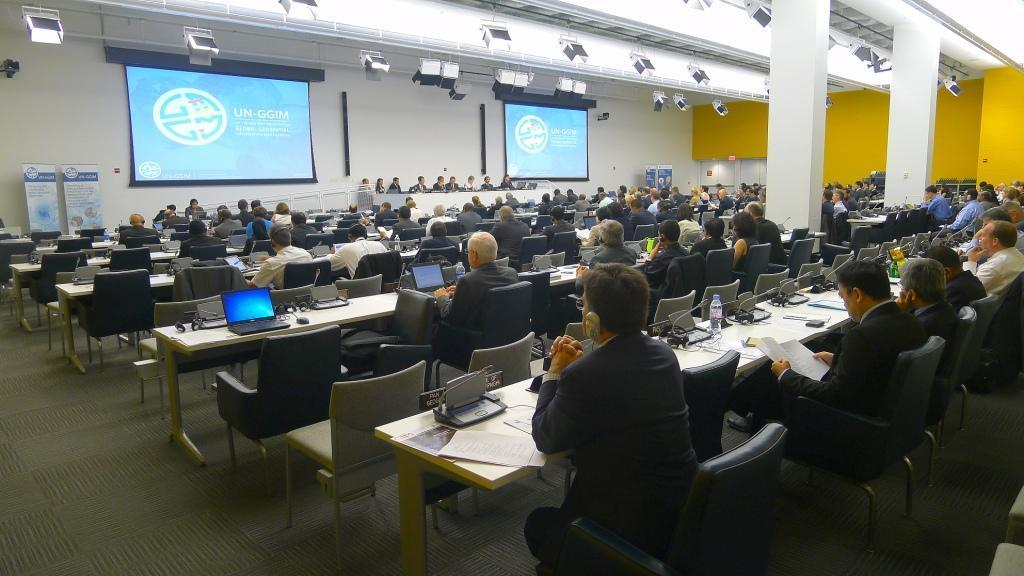 Second Session of the Committee of Experts August 2012 he second session of the UN-GGIM Committee of