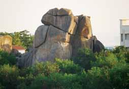 5/1, RR District, Skull Rock - Single formation, now behind Lemon Tree Hotel,