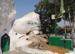 Rocks on which Dargah Pahad-e-Sharif is situated All Photos: Sangeeta Varma July 1 2 3 4