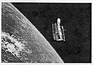 Images observed from space are seven times clearer than the strongest telescopes on Earth. One such satellite-telescope, the Hubble Space Telescope, was launched in 1990.