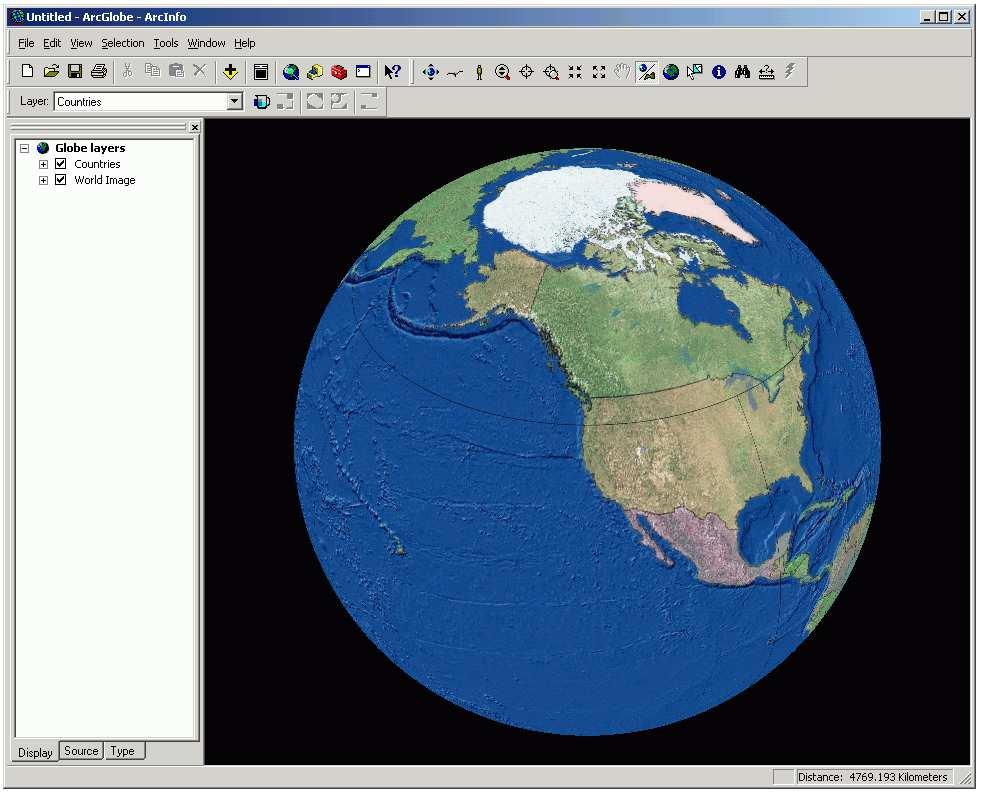 3-D Data in ArcGIS Display in ArcScene and ArcGlobe