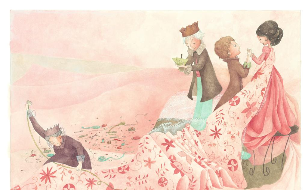 HAPPILY EVER AFTER: THE PRINCESS AND THE PEA Retold by Alex Field Illustrated by Helene Magisson Published by New Frontier Publishing SYNOPSIS The Prince travels the world looking for the perfect