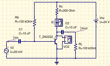 Experiment- 8 Class-A Power Amplifier (Transformerless) Aim: To simulate the Class-A Power Amplifier and calculate the Efficiency.