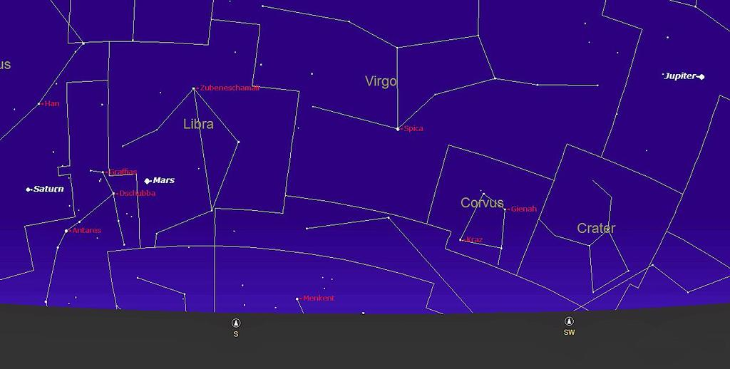 The Night Sky in June, 2016 We are in June already and on the 21 st it will be the Summer Solstice!