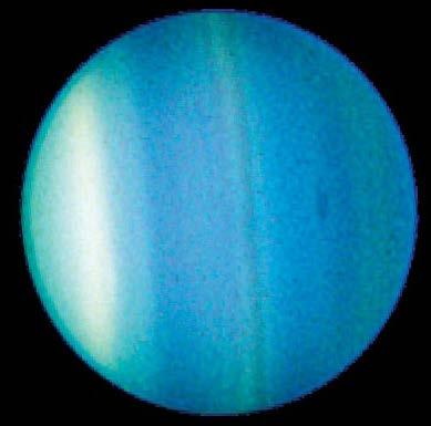 Uranus For part of a Uranus year, one pole points