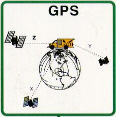 means of the last positioning element, DGPS coordinates, also to the map, in which the measuring equipment s instantaneous position is graphically represented.