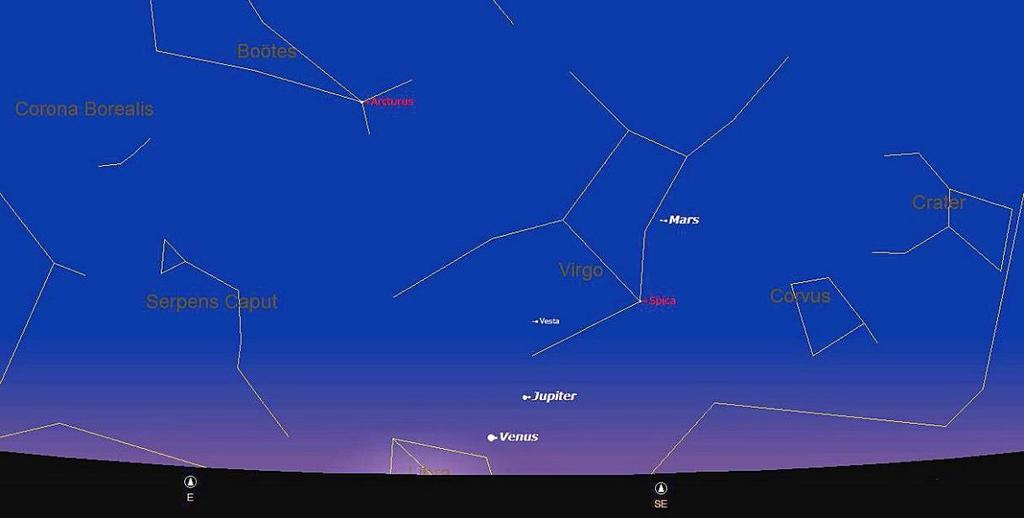 However, November is not a good month for planets this year but it is a good time to do some deep sky observing.