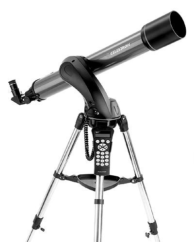 14 1 12 13 11 2 3 10 4 9 8 7 5 6 = The NexStar SLT Refractor Telescope (NexStar 60 Shown) 1 Objective Lens 8 On/Off Switch 2 Fork Arm 9 Focuser Knob 3 Battery Compartment 10 Star