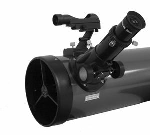 If you wish to change the orientation of the star diagonal, loosen the thumbscrew on the eyepiece adapter until the star diagonal rotates freely.