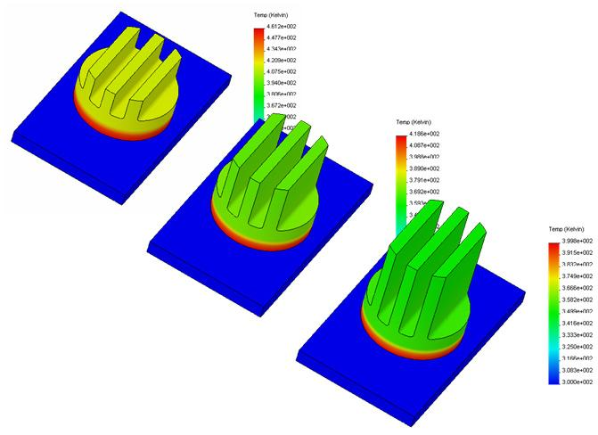 Design Problems that can be solved with SolidWorks The following sections present some examples of design problems solved using the thermal and structural analysis capabilities of SolidWorks.
