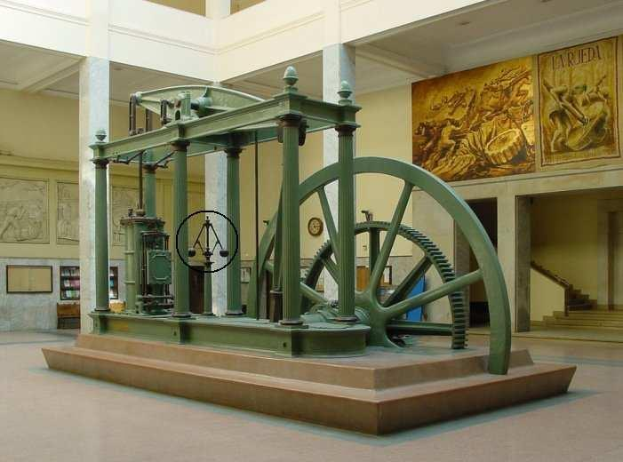 Early control example Watts steam engine (first from 1775) Increased efficiency