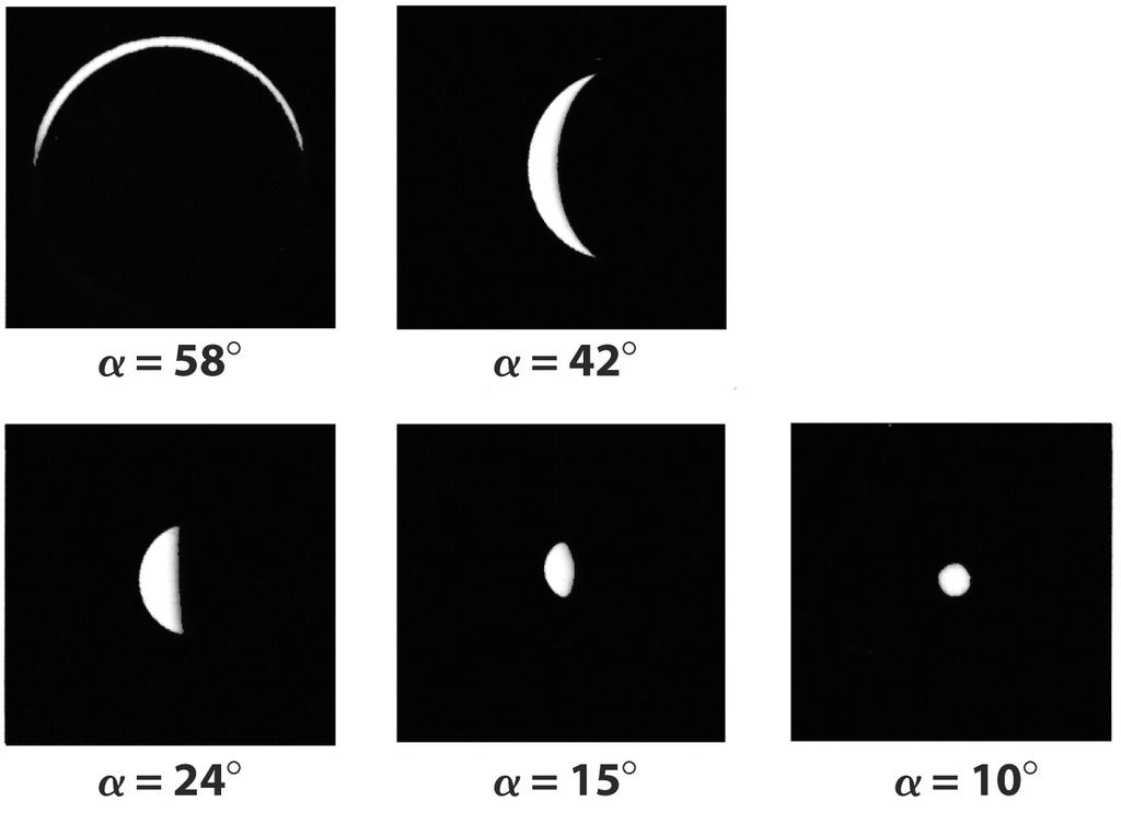The phases of Venus: one of Galileo s most important discoveries with his telescope.