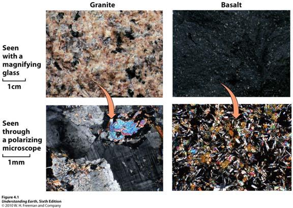 1. How Do Igneous Rocks Differ from One Another?