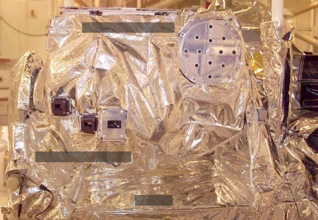 X-ray Photometer System EUV Grating Spectrometer 73 cm Figure 4. The Solar Extreme Ultraviolet Experiment, SEE, is mounted on the top deck of the spacecraft in a solar-viewing orientation.
