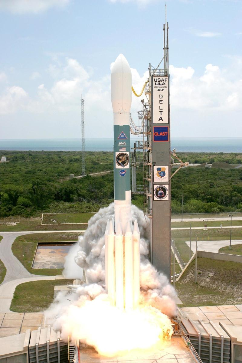 The Fermi Gamma-ray Space Telescope Launched by NASA at Cape Canaveral June 11, 2008 Routine science began August 2008 Two instruments