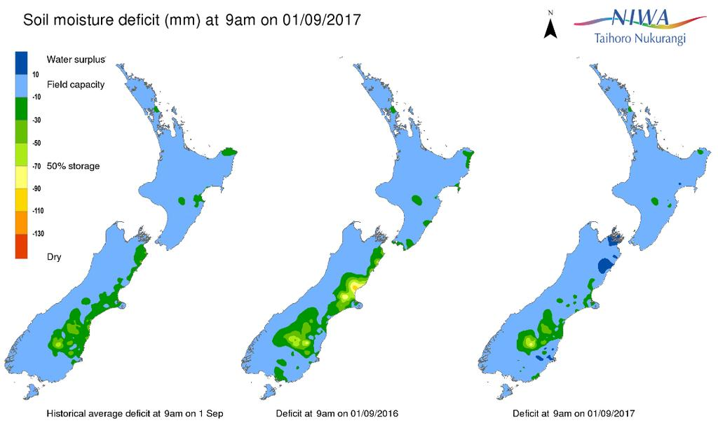 Several isolated storm events brought large amounts of rain to parts of the country resulting in flooding, most notably around