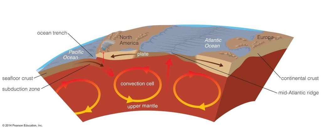 Seafloor Recycling Seafloor is