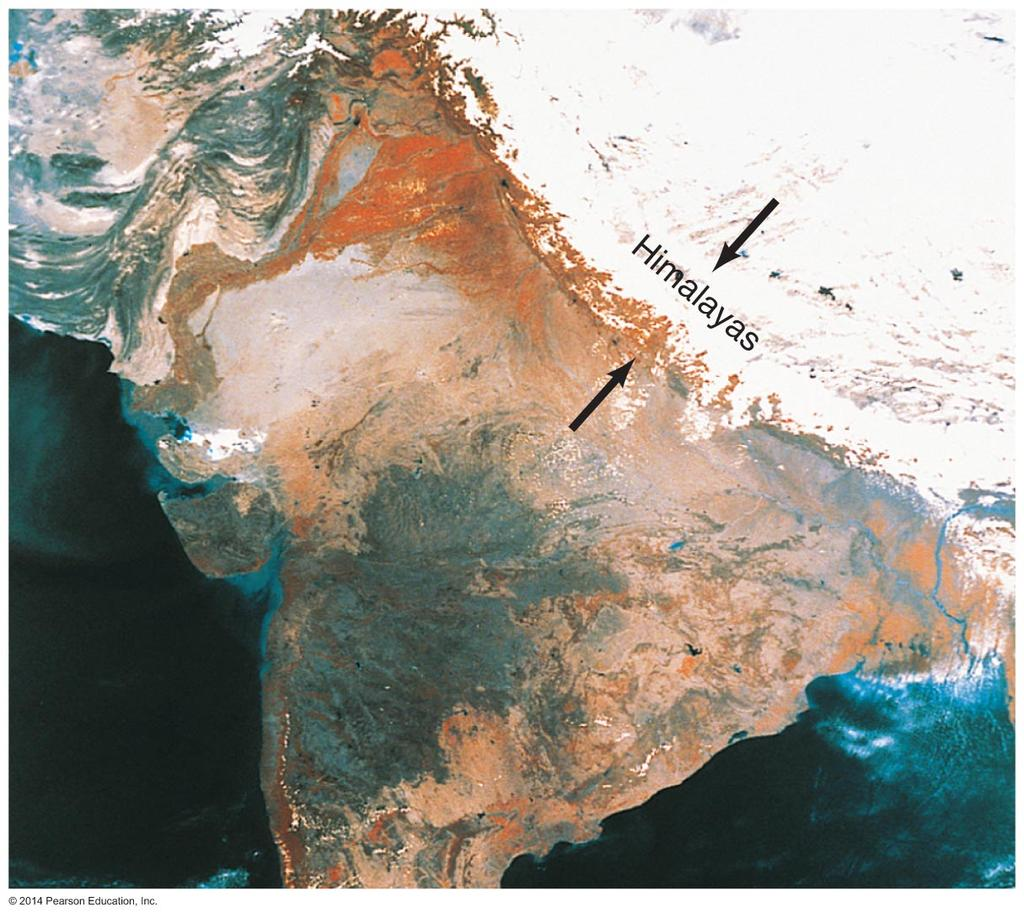 Surface Features The Himalayas