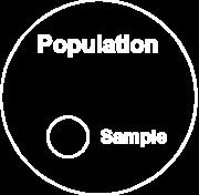 6 Samplig Distributios Statisticias use the word populatio to refer the total umber