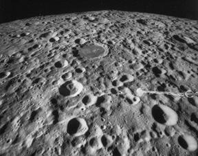 The Surface Features on the Moon Impact Craters Formed by impacts from