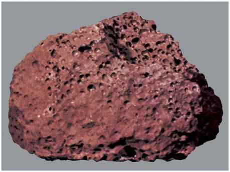All of the lunar rock samples are igneous rocks formed largely of minerals