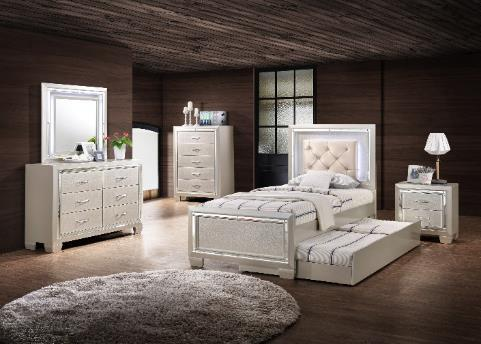 Platinum Youth LT111DR Platinum Youth Dresser 17 L x 54 W x 37 H 0 3/14/2018 LT111MR Platinum Youth Mirror W/Led Li 2 L x 38 W x 36 H LOW 3/7/2018 LT111CH Platinum Youth Chest 17 L x 36 W x 52 H