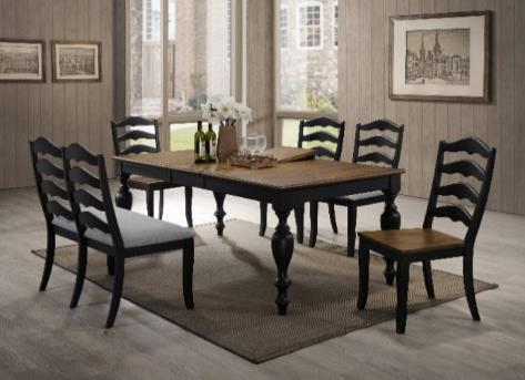 DINING Becky DBK100DT Becky Dining Table Top 0 L x 0 W x 0 H LOW DBK100DL Becky Dining Table Leg 0 L x 0 W x 0 H LOW DBK100WSC