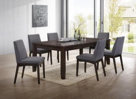 Piper Dining DPP100DT Piper Dining Table 0 L x 0 W x 0 H HEAVY DPP100SC Piper Dining Side Chair (2 Per Pack) 0 L x 0 W x 0 H HEAVY Piper