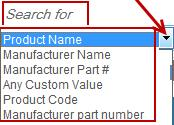 list and enter the chemical/product name in the box. Then click the Search button.